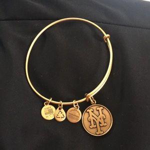 Alex and Ani NY METS bracelet